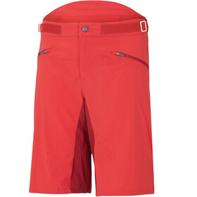Ziener Ebner Shorts Men garnet red